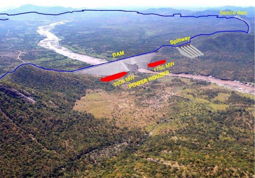 Grand Ethiopian Reinassance Dam, Ethiopia | EJAtlas