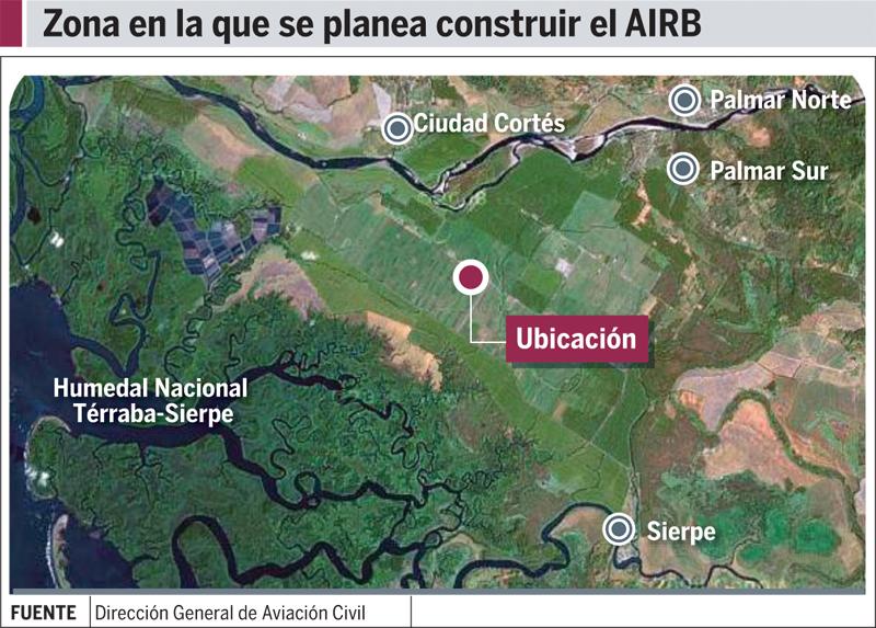 Aeropuerto internacional de la zona sur aizs costa rica for Grabado de cristales zona sur