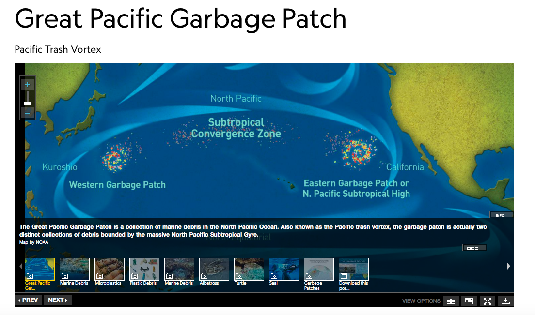 Great Pacific Garbage Patch, North Pacific Ocean | EJAtlas