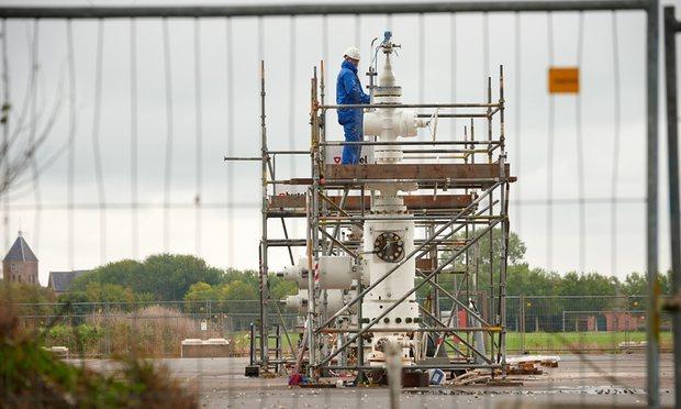 Netherlands Groningen Gas