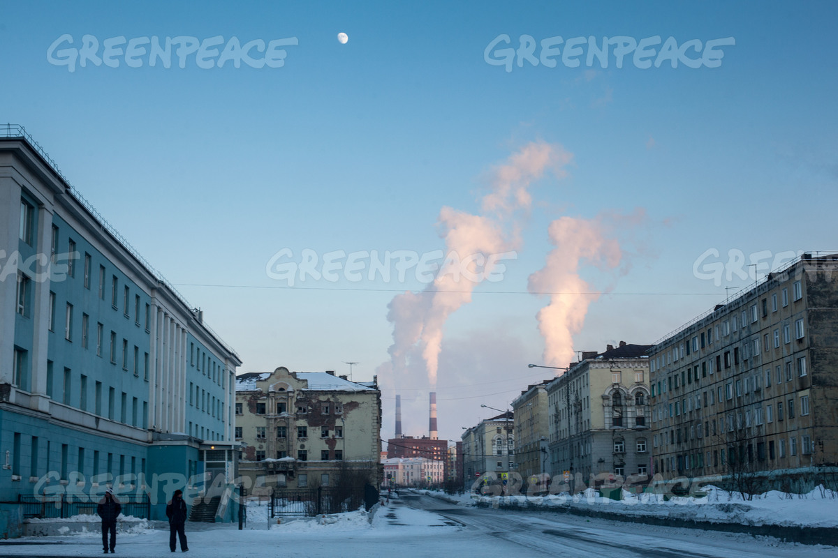 norilsk pollution  russia