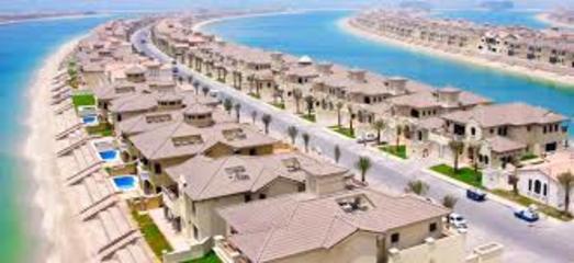 Palm Islands Palm Jumeira United Arab Emirates Ejatlas