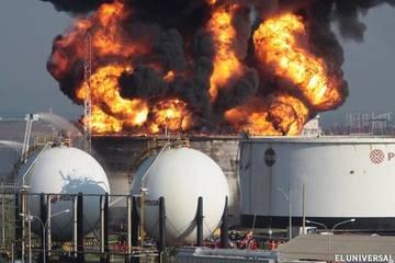 Venezuela Refinery Explosion In Amuay Venezuela Ejatlas