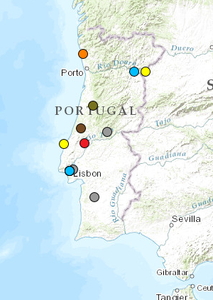Map Of Environmental Conflicts And Mobilization In Portugal EJAtlas - Portugal motorway map